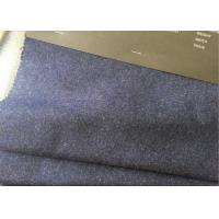 60wl3p10other navy heather  Color plain Melton Wool Fabric for all people