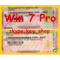 Best windows 7 coa stickers for refurbished laptops and desktops in my retail store wholesale