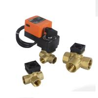 Best On Off Type Electric Solenoid Water Inlet Ball Valve Actuator Hand Operated 220VAC wholesale