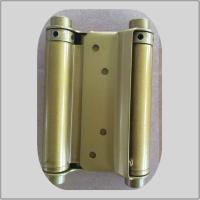 China Modern Design Spring Loaded Hinges Brass Plated  For Residential House on sale