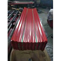Best High Hardness Galvanized Steel Roofing Sheet , Durable Steel Roof Sheets wholesale
