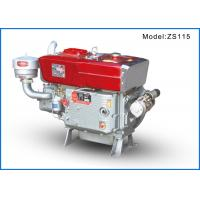 Best ZS1115GM Single Cylinder Diesel Engine Generator Water Cooled 16kw 22hp wholesale
