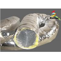 Best Flexible Air Conditioning Insulated Flexible Ducting For Ventilation Application wholesale
