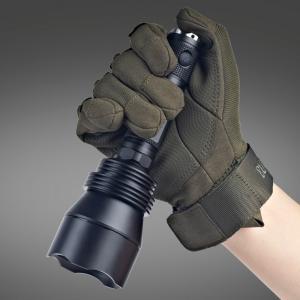 Best Self Defense Lumintop T5 Flashlight , Big Attacking Head High Intensity Flashlight wholesale
