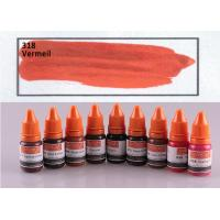 Best Vermeil Color Pigment Tattoo Ink Non Toxic 10ml Cosmetic Grade wholesale