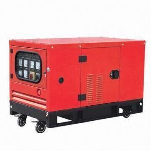 Best 20kW Silent Type Diesel Generator, Powered by Isuzu Engine, with 400V Voltage/50Hz Frequency wholesale