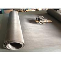 Best S4100 Magnetic Stainless Steel Wire Mesh In Stock 60 Mesh Twill Weave wholesale
