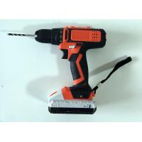 Best Performance Motor Hand Held Power Tools , LED Power Indicator Wireless Power Drill wholesale