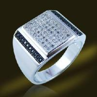 Best 2013 New Silver Men′s Jewelry Ring with CZ (RSA3506) wholesale