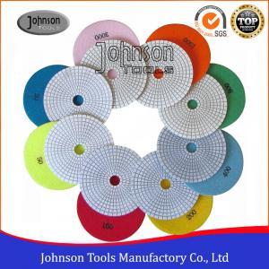 Best Various Color Granite Marble Diamond Polishing Pads Fast Speed  wholesale