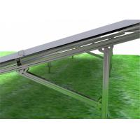 0.5-15mm Solar Panel Ground Mounting Systems Grid Tie PV With Racking Bracket Stainless Steel