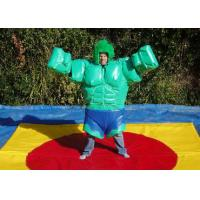 Best Superman Shaping Sumo Wrestling Suits Customized Color Adults Interactive Games wholesale