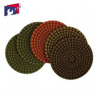 Best Marble Granite Diamond Polishing Pads Excellent Service Stable Performance wholesale