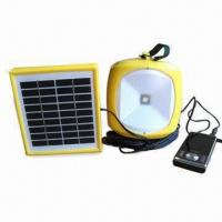 Buy cheap LED camping solar lantern with 3W LED power from wholesalers
