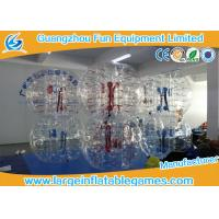 Best Clear inflatable body bumper ball Human Bubble Soccer , Bubble Football wholesale