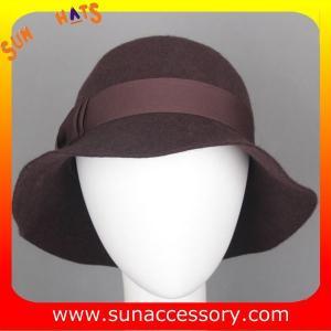 Best 6090343 Sun Accessory customized  winner  fashion 100% wool felt clothe hats, women hats and caps wholesaling wholesale