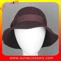 Best 6090343 Sun Accessory customized  winner  fashion 100% wool felt clothe hats, women hats and caps wholesaling wholesale