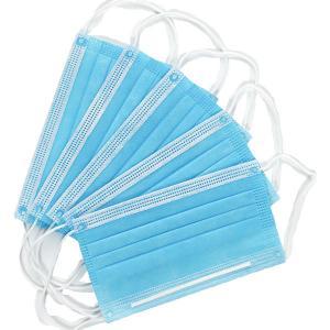 Best Bus Terminals Anti Saliva Disposable 3 Ply Earloop Masks wholesale