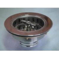 China Brass Body Sink Strainer on sale