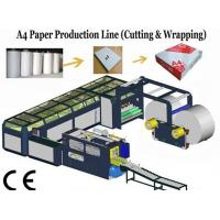 Best High Speed A4 Size Paper Cutting Machine With Servo Motor 16~18 Packs / min wholesale