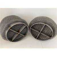 China ISO 9001-2015 431 Wire Mesh Demister Mist Eliminator For Chemical Columns on sale