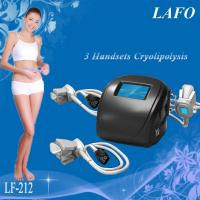 Best HOTTEST!!! 3 handles Portable Cryotherapy Machine Whole Body wholesale