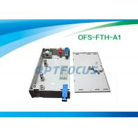 China FTTH Mini Fiber Optic Terminal Box 3 SC / FC / ST Adapor 6 LC Pigtails on sale