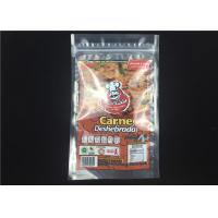 China Food Zip Lock Packaging Bags Nylon Ldpe Beef Zip Up Plastic Bags 150 X 250 Mm on sale
