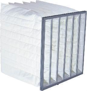 Best Medium Effiiency Bag Air Filter with Aluminum or Galvanized Frame wholesale