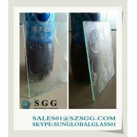 China 4mm clear patterned glass sheet on sale