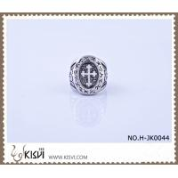 Best OEM and ODM available 316l Stainless Steel Cross Ring #6 / #7 H-JK0044 wholesale
