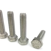 Best Polished Galvanized Stud Bolts , 316 Stainless Steel Lag Bolts Size M3-M36 wholesale