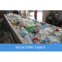 Best Waste Plastic PET Bottle Recycling Machine Scrap Flakes Crushing Washing Drying wholesale