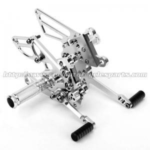 Best CNC Aluminum Motorcycle Rear Sets For APRILIA RSV4 (R Factory)  09-10 wholesale