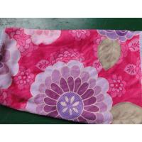 Best Weft knitted flower printed 30*60 microfiber cleaning cloth , microfiber home usaging towel wholesale