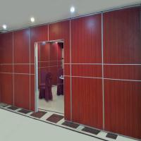 Best Folding Slid Easy Operable Office Customized 80 Style Aluminium Frame Chinese Foshan Partition Wall wholesale