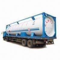 Best Propane Tank Container with 1.8MPa Design Pressure, Available in 20, 30 or 40ft Sizes wholesale