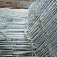 Best Galvanized / Pvc Coated Double Loop Wire Fence Panel , Security Wire Fence wholesale