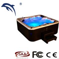 Freestanding Massage Hot Tub  MVG New Design Whirlpool  Spas With Colorful Light