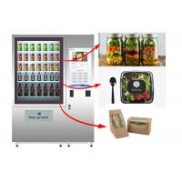 Best Stand Fresh Salad Vending Machine With Lift System And Remote Advertising System wholesale