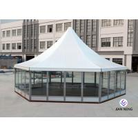 Best Aluminum Material High Peak Tents Glass Sidewalls For Meeting / Exhibition wholesale