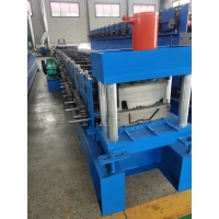 China Water Channel Gutter Downspout Pipe Roll Forming Machine on sale