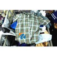 China Grade A++ Summer Used Mens Clothing Wholesale Bales for Africa , Second hand Men's shirts on sale