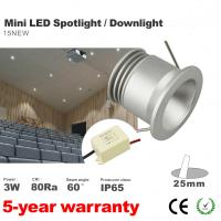 Best 3W Mini Recessed LED Downlights Dimmable LED Drive decorate wall panel lamp lighting wholesale