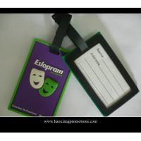 Best Hot sale Lovely and Colorful Travel Using Cheap Custom PVC Luggage Tag wholesale