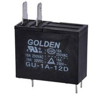 China 16A / 250V DC PCB Power Relay , High Voltage Home Appliance Relay on sale