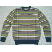 China Men′s Knitted Sweater, Wool Pullover, Stripe Sweater (SFY-A076) on sale
