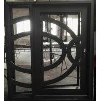 China Square Top Wrought Iron Door Front Entry Door on sale