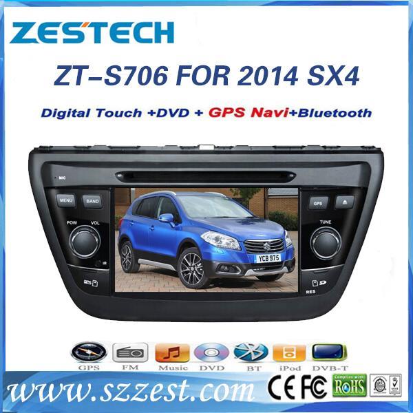 ZESTECH 7inch Car Dvd Gps For Suzuki SX4 2014 Car Dvd