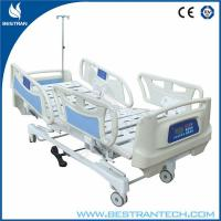 China Adjustable 6 Function Electric Medical Hospital Beds With CPR Handles on sale